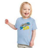 Toddler Light Blue T Shirt-Future Shipbuilder Carrier Ship