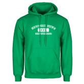 Kelly Green Fleece Hoodie-NNS College Design