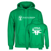 Kelly Green Fleece Hoodie-HR and A