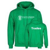 Kelly Green Fleece Hoodie-Trades
