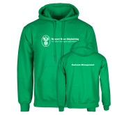 Kelly Green Fleece Hoodie-Business Management