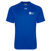 Under Armour Royal Tech Tee-Huntington Ingalls Industries