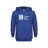 Youth Royal Fleece Hoodie-Huntington Ingalls Industries