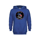 Youth Royal Fleece Hoodie-CVN 79