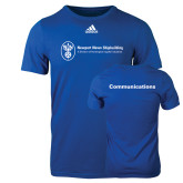 Adidas Royal Logo T Shirt-Comms