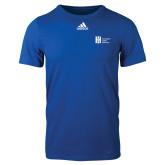 Adidas Royal Logo T Shirt-Huntington Ingalls Industries