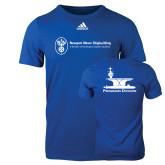 Adidas Royal Logo T Shirt-Programs Division