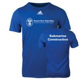 Adidas Royal Logo T Shirt-Submarine Construction