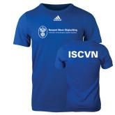 Adidas Royal Logo T Shirt-ISCVN