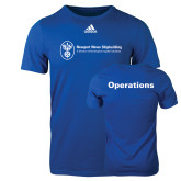 Adidas Royal Logo T Shirt-Operations