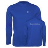 Performance Royal Longsleeve Shirt-Comms
