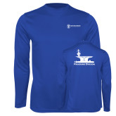 Performance Royal Longsleeve Shirt-Programs Division