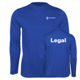 Performance Royal Longsleeve Shirt-Legal