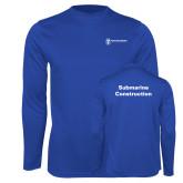 Performance Royal Longsleeve Shirt-Submarine Construction