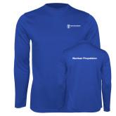 Performance Royal Longsleeve Shirt-Nuclear Propulsion