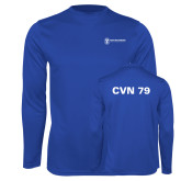 Performance Royal Longsleeve Shirt-CVN 79