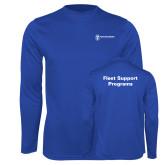 Performance Royal Longsleeve Shirt-Fleet Support Programs