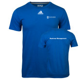 Adidas Climalite Royal Ultimate Performance Tee-Business Management