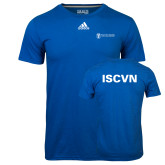 Adidas Climalite Royal Ultimate Performance Tee-ISCVN