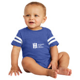 Vintage Royal Jersey Onesie-Huntington Ingalls Industries