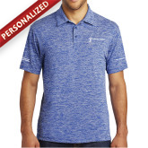 Royal Electric Heather Polo-Manufacturing and Material Distribution