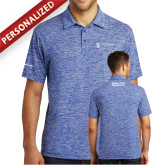 Royal Electric Heather Polo-Strategic Sourcing