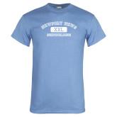Light Blue T Shirt-NNS College Design