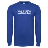 Royal Long Sleeve T Shirt-SSN 787