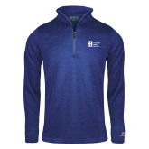 Russell Royal Heather 1/4 Zip-Huntington Ingalls Industries