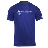 Russell Core Performance Royal Tee-Newport News Shipbuilding