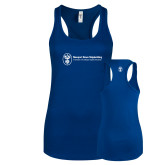 Next Level Ladies Royal Ideal Racerback Tank-Newport News Shipbuilding