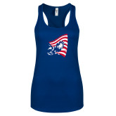 Next Level Ladies Royal Ideal Racerback Tank-NNS Flag