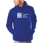 Under Armour Royal Armour Fleece Hoodie-Huntington Ingalls Industries