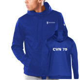 Under Armour Royal Armour Fleece Hoodie-CVN 79