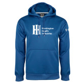 Under Armour Royal Performance Sweats Team Hoodie-Huntington Ingalls Industries