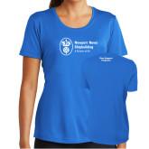 Ladies Syntrel Performance Royal Tee-Fleet Support Programs
