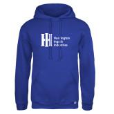Russell DriPower Royal Fleece Hoodie-Huntington Ingalls Industries