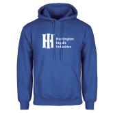Royal Fleece Hoodie-Huntington Ingalls Industries