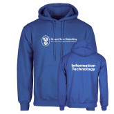 Royal Fleece Hoodie-Information Technology