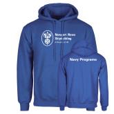 Royal Fleece Hoodie-Navy Programs