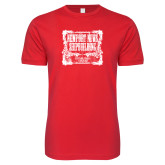 Next Level SoftStyle Red T Shirt-NNS Vintage