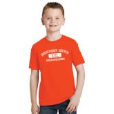 Youth Orange T Shirt-NNS College Design