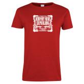 Ladies Red T Shirt-NNS Vintage