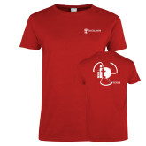 Ladies Red T Shirt-NNS IT
