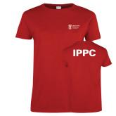 Ladies Red T Shirt-IPPC