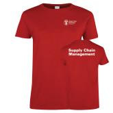 Ladies Red T Shirt-Strategic Sourcing