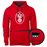 Contemporary Sofspun Red Hoodie-Icon