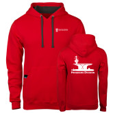 Contemporary Sofspun Red Hoodie-Programs Division
