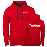 Contemporary Sofspun Red Hoodie-Trades