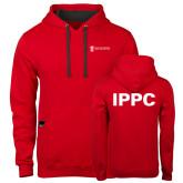 Contemporary Sofspun Red Hoodie-IPPC